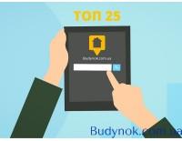 ТОП 25 сайтов недвижимости Украины