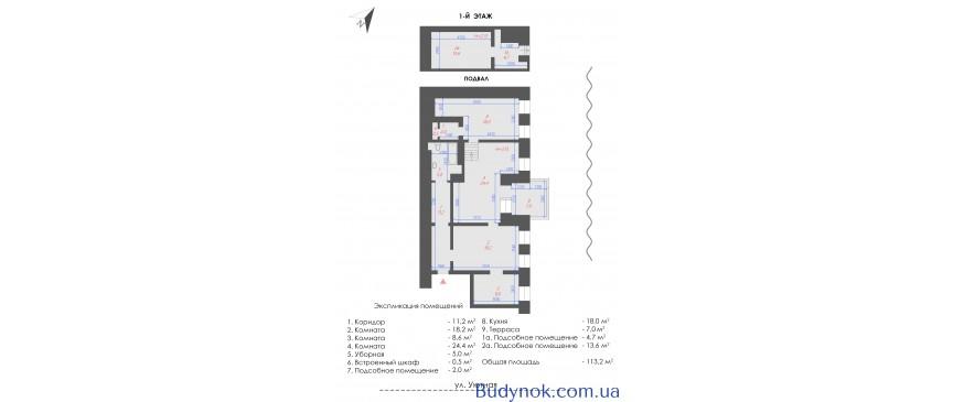Продажа здания в Отраде. 507 м2 3 этажа + мансарда. Для бизнеса